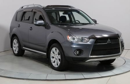 2010 Mitsubishi Outlander XLS AWD V6 CUIR TOIT 7 PASSAGERS #0