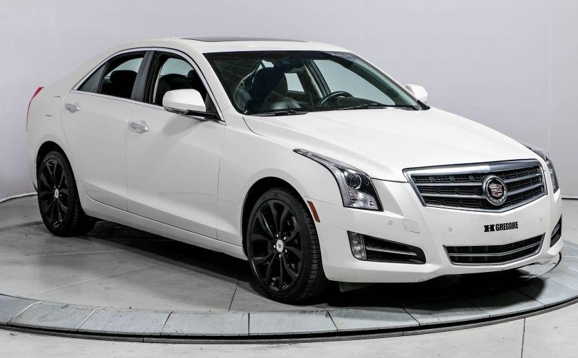 2014 Cadillac ATS PERFORMANCE AWD 2.0T CUIR TOIT NAVIGATION CAMERA R #0