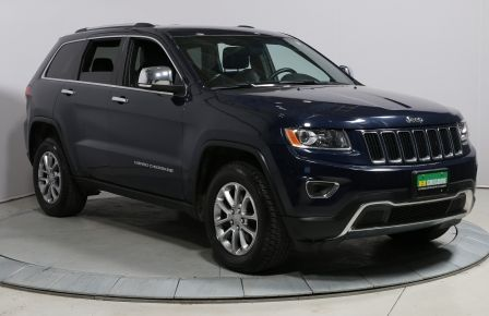 2016 Jeep Grand Cherokee LIMITED 4WD CUIR MAGS CAMÉRA DE RECUL #0