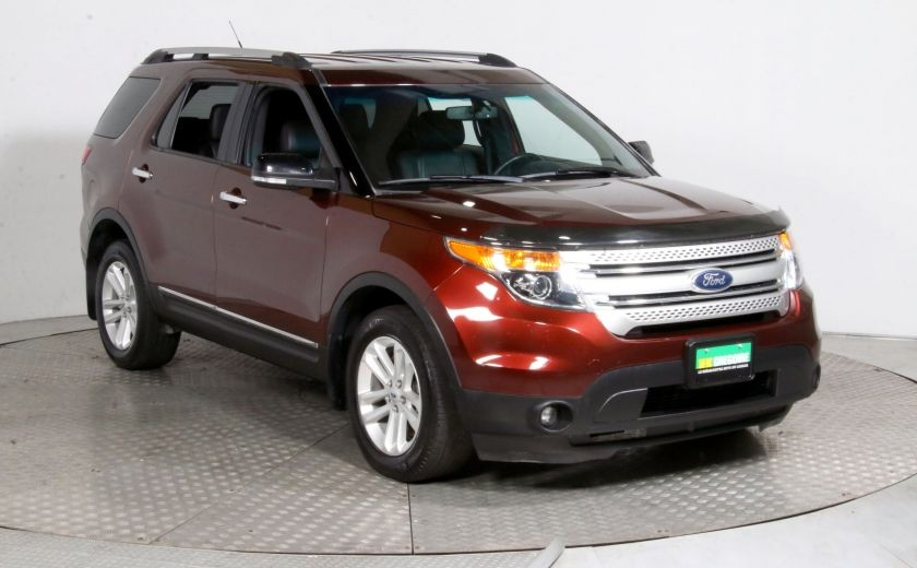2015 Ford Explorer XLT AWD CUIR MAGS 7 PASSAGERS BLUETOOTH #0