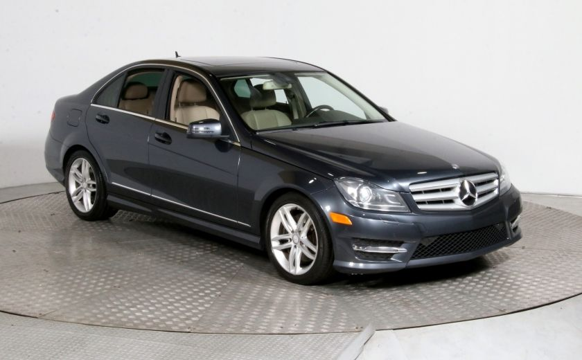 2013 Mercedes Benz C300 C 300 4MATIC CUIR TOIT MAGS BLUETOOTH #0