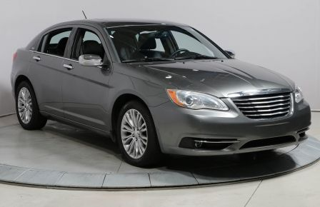2012 Chrysler 200 LIMITED AUTO TOIT CUIR MAGS #0