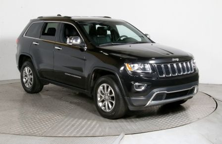 2015 Jeep Grand Cherokee Limited 4WD CUIR MAGS CAM DE RECULE #0