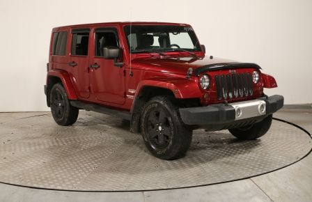 2011 Jeep Wrangler Unlimited SAHARA UNLIMITEDA/C BANCS CHAUFFANT MANUELLE #0