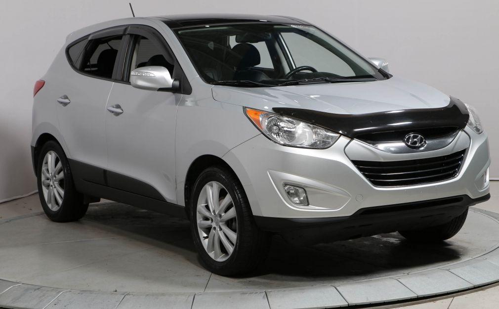 2010 Hyundai Tucson Limited AWD A/C CUIR MAGS TOIT OUVRANT #0