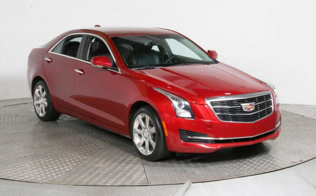 2015 Cadillac ATS Luxury AWD CUIR MAGS CAM DE RECULE BLUETOOTH #0