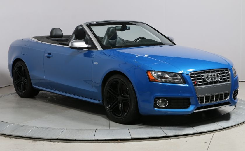 2011 Audi S5 PREMIUM V6 QUATTRO CONVERTIBLE #0