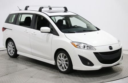 2012 Mazda 5 GT A/C TOIT MAGS BLUETOOTH 6PASSAGERS #0