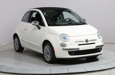 2012 Fiat 500 LOUNGE AUTO CONVERTIBLE CUIR MAGS #0