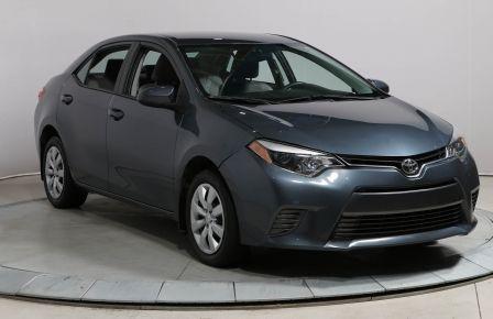 2015 Toyota Corolla LE GROUPE ÉLECTRIQUE BLUETOOTH CAM RECUL #0