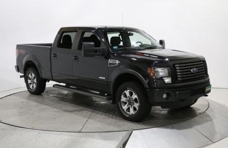 2012 Ford F150 FX4 CREW CAB 4X4 A/C BLUETOOTH MAGS #0