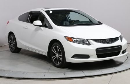 2012 Honda Civic EX-L COUPE A/C AUTO BLUETOOTH TOIT CUIR MAGS #0