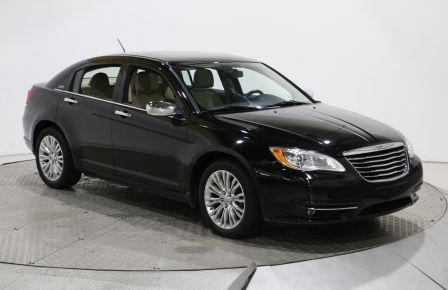 2012 Chrysler 200 Limited AUTO A/C CUIR TOIT MAGS BLUETOOTH #0