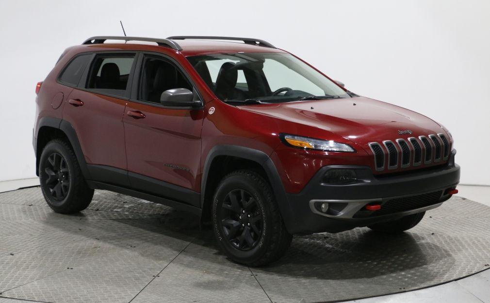 2015 Jeep Cherokee TRAILHAWK 4X4 AUTO CUIR NAV MAGS #0
