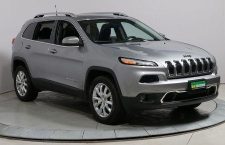 2016 Jeep Cherokee Limited 4x4 CUIR TOIT MAGS NAV CAM DE RECULE #0