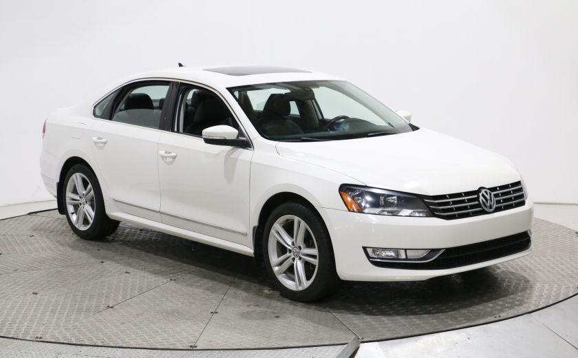 2013 Volkswagen Passat Highline TDI AUTO A/C TOIT MAGS CAM DE RECULE #0