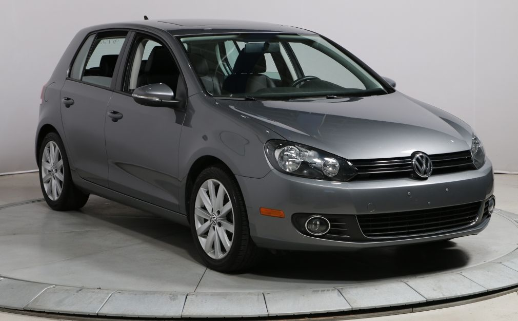 2013 Volkswagen Golf 2.5L, MAGS,BLUETOOTH, TOIT PANORAMIQUE GROUPE ELEC #0