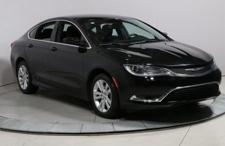 2016 Chrysler 200 LIMITED A/C BLUETOOTH CAMERA RECUL MAGS #0