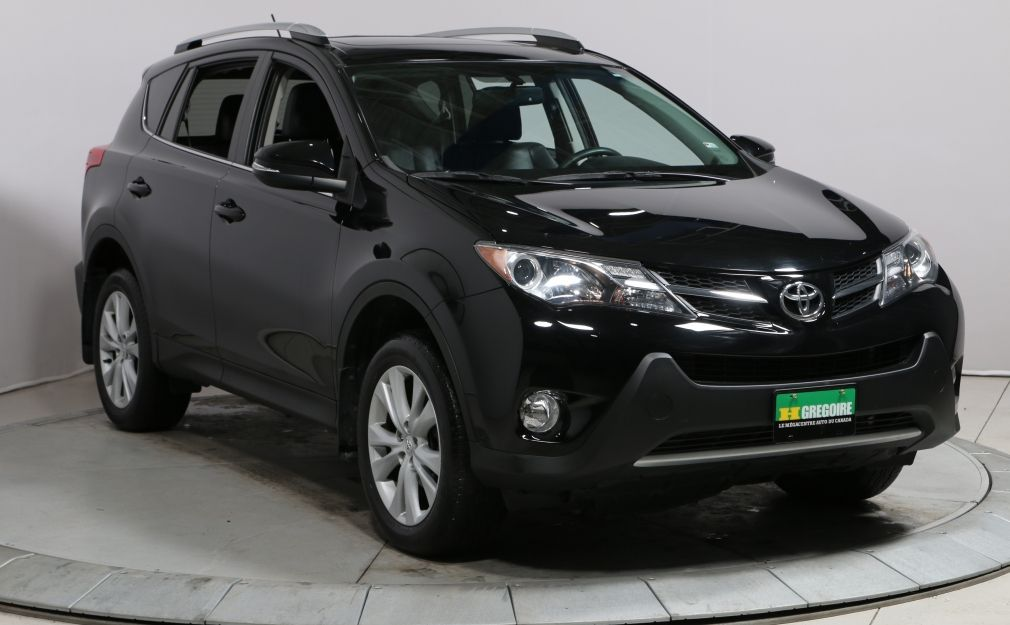2013 Toyota Rav 4 Limited AWD AUTO A/C GR ELECT CUIR MAGS CAM RECUL #0