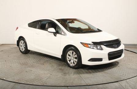 2012 Honda Civic COUPE  LX AUTO A/C GR ELECT BLUETOOTH #0