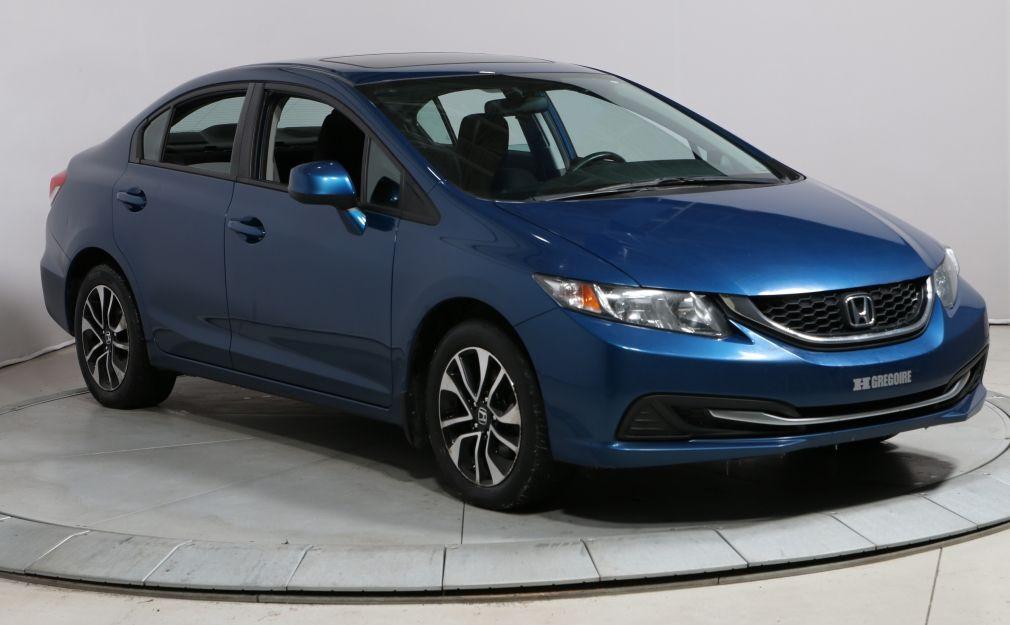 2013 Honda Civic EX AUTO A/C GR ELECT TOIT OUVRANT MAG BAS KILO #0