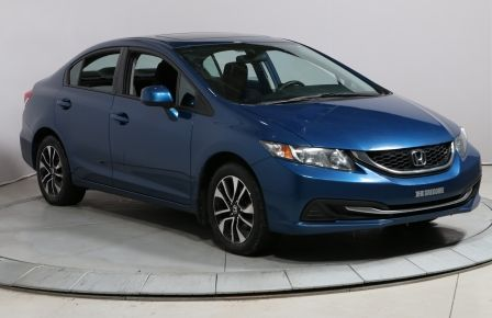 2013 Honda Civic EX AUTO A/C GR ELECT TOIT OUVRANT MAG BAS KILOMETR #0