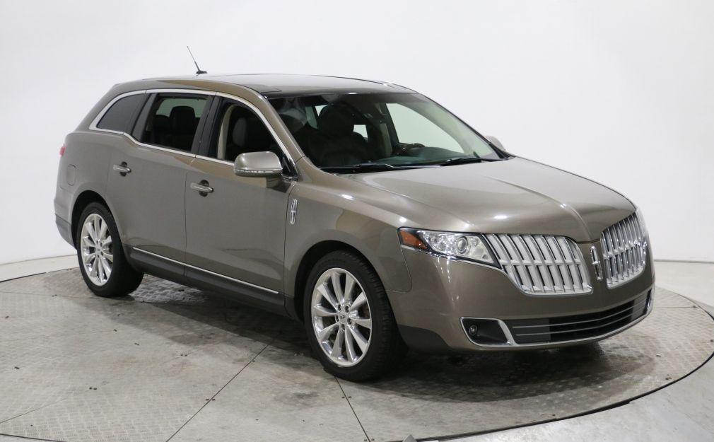 2012 Lincoln MKT EcoBoost AWD CUIR TOIT MAGS NAV 6PASSAGERS #0