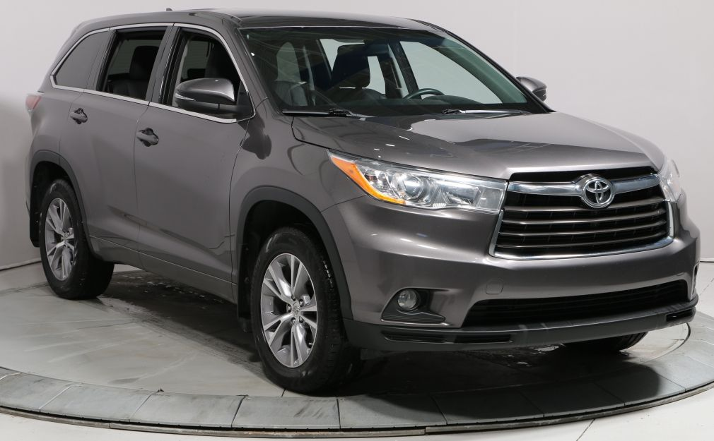 2015 Toyota Highlander LE AWD AUTO A/C BLUETOOTH 7 PASSAGERS #0