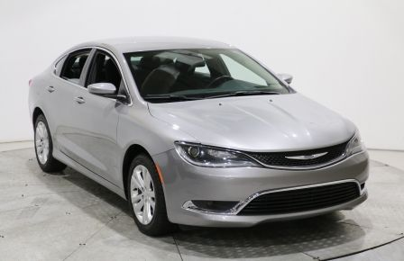 2016 Chrysler 200 Limited AUTO A/C CAM RECUL BLUETOOTH MAGS #0