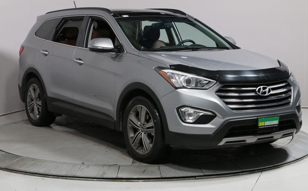 2013 Hyundai Santa Fe LIMITED AWD A/C TOIT CUIR NAV MAGS 6 PASSAGERS #0