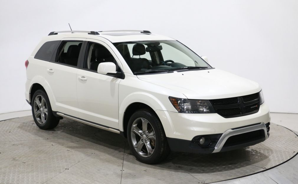 2017 Dodge Journey Crossroad DVD CUIR TOIT MAGS 7 PASSAGERS #0