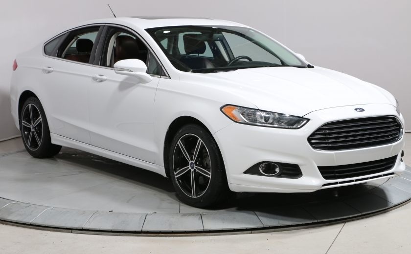2015 Ford Fusion SE AUTO CUIR TOIT MAGS CAM.RECUL BLUETOOTH #0