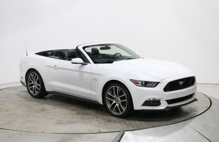 2015 Ford Mustang GT Premium CUIR CONVERTIBLE MAGS CAM DE RECULE #0