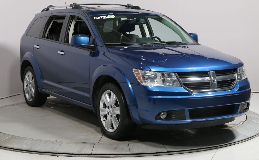 2010 Dodge Journey R/T AWD A/C TOIT CUIR MAG 7PASSAGERS #0