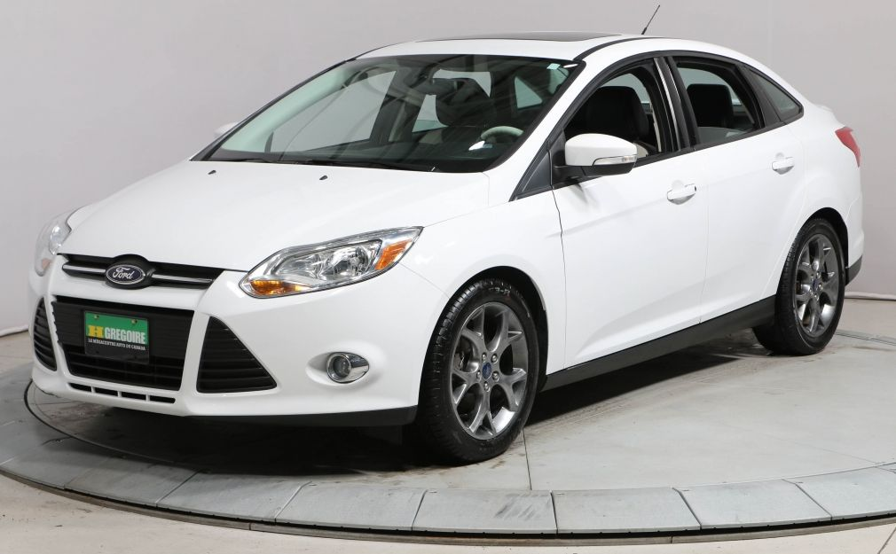2014 Ford Focus SE AUTO A/C BLUETOOTH TOIT CUIR MAGS #0