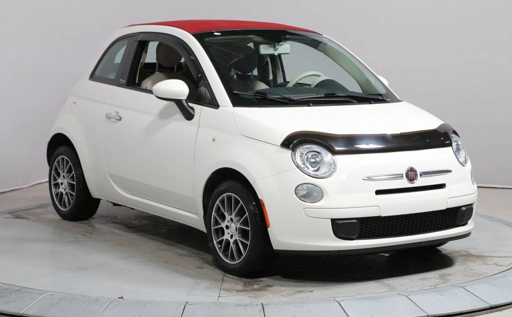 2013 Fiat 500 Pop GR ELECT MAGS TOIT DÉCAPOTABLE #0