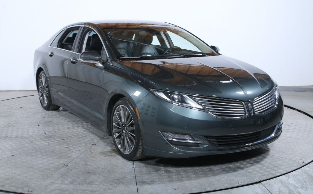 2015 Lincoln MKZ AWD CUIR TOIT BLUETOOTH #0