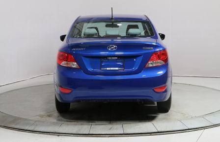 2013 Hyundai Accent L AUTOMATIQUE BAS KILOMETRAGE #0