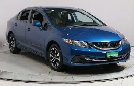 2013 Honda Civic EX AUTO A/C TOIT MAGS CAMÉRA RECUL BLUETHOOT #0