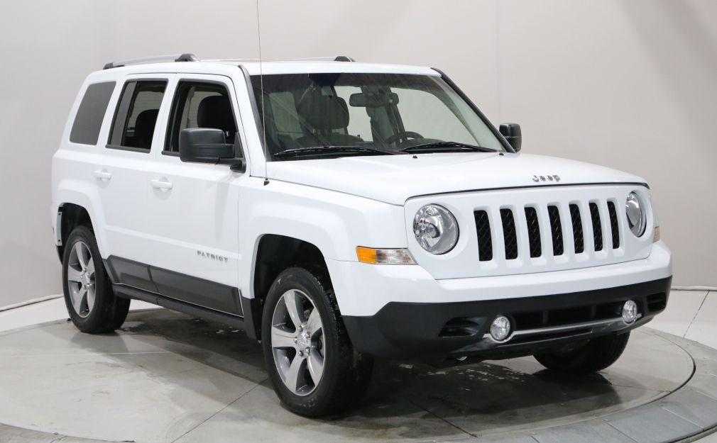 2017 Jeep Patriot HIGH ALTITUDE 4X4 A/C TOIT CUIR MAGS #0