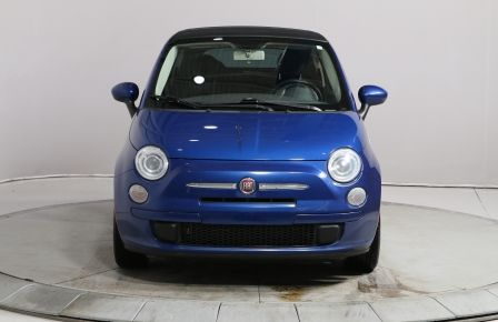 2012 Fiat 500 CONVERTIBLE A/C GR ELECT #0