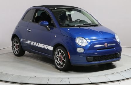 2012 Fiat 500 POP CONVERTIBLE A/C BLUETOOTH GR ELECT #0