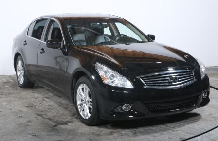2011 Infiniti G37 X AWD AUTO A/C CUIR TOIT MAGS CAMÉRA RECUL #0