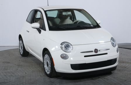 2013 Fiat 500 POP MANUELLE A/C BLUETOOTH #0