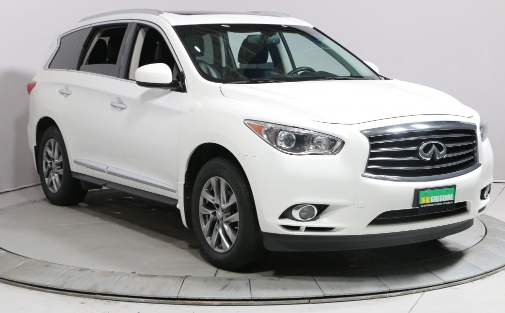 2014 Infiniti QX60 AWD AUTO A/C CUIR TOIT BLUETOOTH MAGS 7 PASSAGERS #0