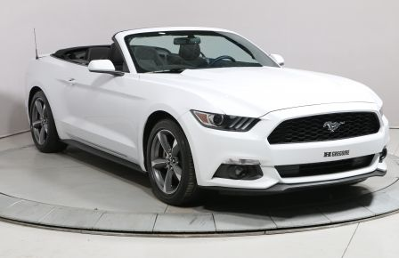 2017 Ford Mustang CONVERTIBLE V6 AUTO A/C MAGS BLUETOOTH CAMÉRA RECU #0