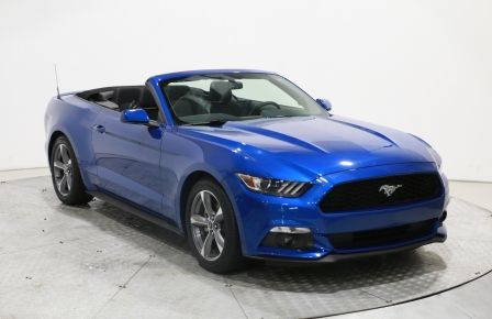 2017 Ford Mustang CONVERTIBLE V6 MAGS BLUETHOOT CAMÉRA RECUL #0