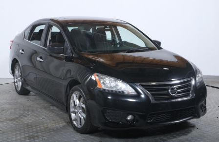2013 Nissan Sentra SR AUTO TOIT A/C AILERON BLUETOOTH #0