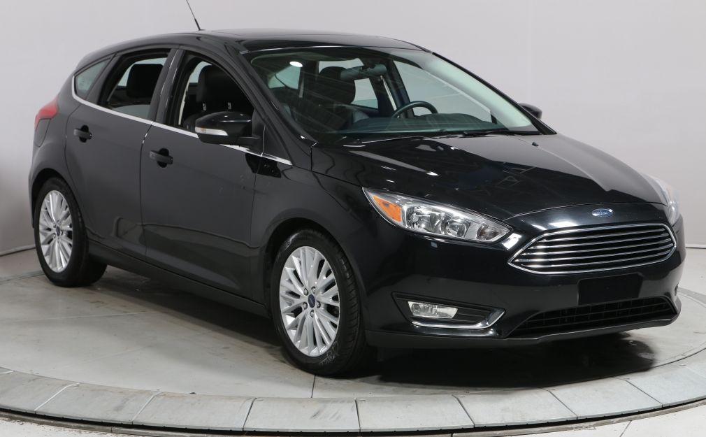 2016 Ford Focus TITANIUM AUTO A/C CAM RECUL CUIR TOIT BLUETOOTH MA #0