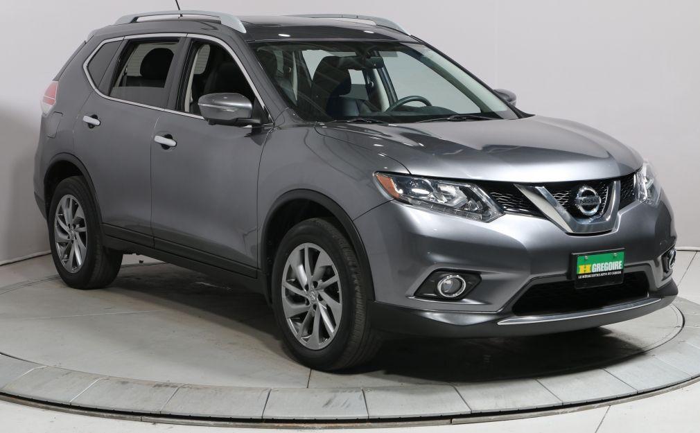 2015 Nissan Rogue SL AWD A/C NAV CAM RECUL CUIR TOIT BLUETOOTH MAGS #0